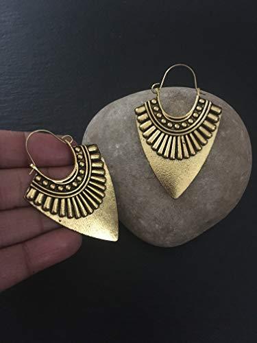 Vintage hoops earrings,Indian hoopEthnic Earrings,Afghan Earrings,Egyptian jewellery,Boho Earrings,metal earrings, Rajasthani earrings