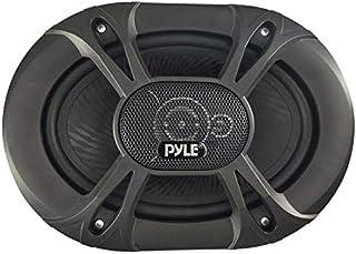 سماعات ستيريو في السيارة العالمية ثلاثية الاتجاهات - 300 وات 5 بوصة × 7 بوصة / 6 بوصة × 8 بوصة مكبر صوت للسيارة عالمي بديل سريع لباب السيارة/لوحة جانبية متوافقة - بايل PL5173BK (زوج)
