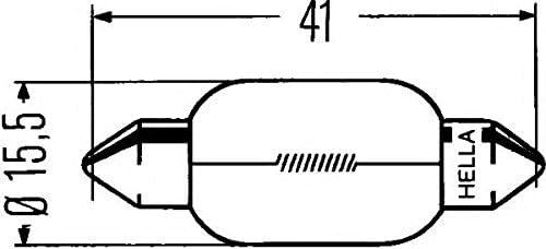 1 Glühlampe Rückfahrleuchte HELLA 8GM 002 091-181 STANDARD MAN LINDE LANGENDORF