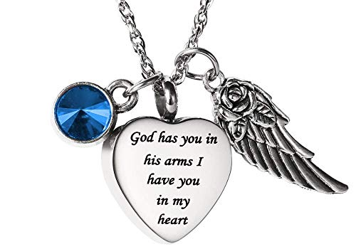 Angel Wing Charm Keepsake