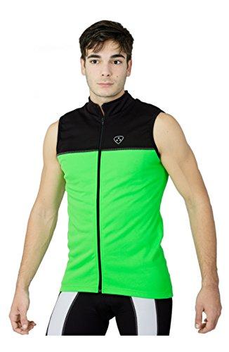 Ciclismo Chaleco térmico impermeable Windstopper ligero alta visibilidad bicicleta desgaste - DHEERA SPORTS