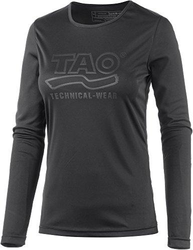 TAO Sportswear T-Shirt pour Femme Long XL Noir