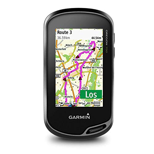 Garmin Oregon 700 - wasserdichtes GPS-Outdoor-Navi mit 3