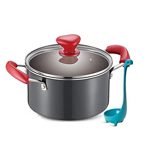 Jambala Antihaft-Milch Pot Soup Pot Noodle Pot Cooker Cooker Gas Universal, Durchmesser 20cm