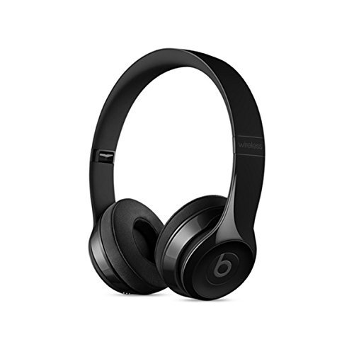 Beats by Dr. Dre Solo 3 On-Ear Headphones with Bluetooth Wireless - Black (Renewed)