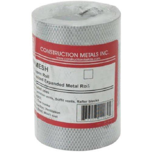 Construction Metals KM625 Mesh Screening, 6' by 25'