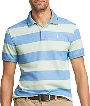 IZOD Men's Advantage Performance Short Sleeve Stripe Polo (Various Sizes)