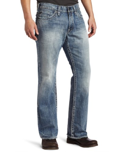 Silver Jeans Men's Grayson Relaxed Fit Jean