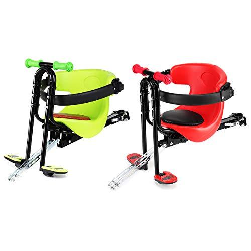 HobbyAnt Voorstoel Veiligheid Stabiel Baby Kind Kinderstoel Carrier Bracket Motorfiets Scooter Fiets - Kleur Rood