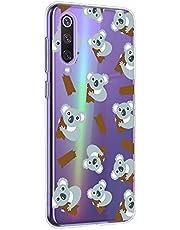 Oihxse Compatible con Motorola Moto G6 Funda Cristal Silicona TPU Suave Ultra-Delgado Protector Estuche Creativa Patrón Protector Anti-Choque Carcasa Cover(Pereza A10)