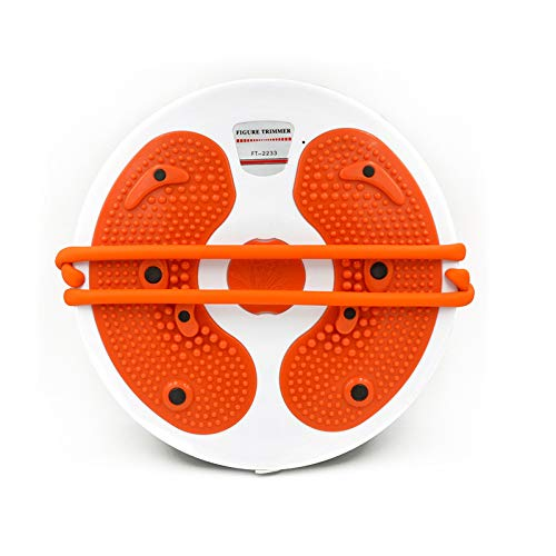 HISROOM Twist Waist Torsion Disc Board, Twist Board Balance Board Massage Drehplatte Fitness Drehscheibe Wobble Balance Board Anti-Rutsch-Oberfläche Gym Fitness Übung Rehabilitationstraining