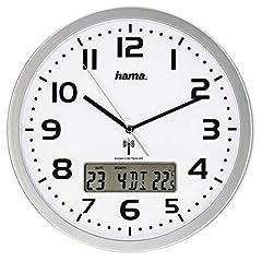 Hama 186333 Funk-Wanduhr digital  große