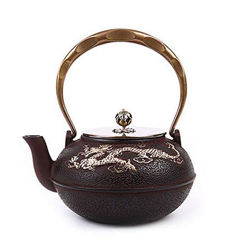 Yinglihua gietijzeren theepot traditionele gietijzeren theepot voor losse thee kleur gladder zoete thee waterkoker voor kachel Top