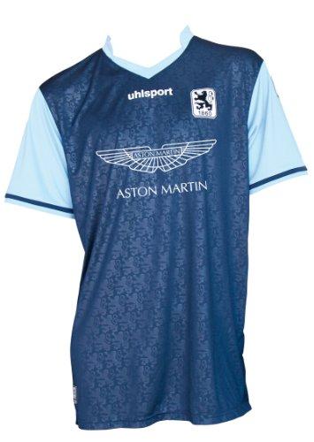 uhlsport 1860 Heimtrikot KA Fan, marine/skyblau, XS, 1003122011860,