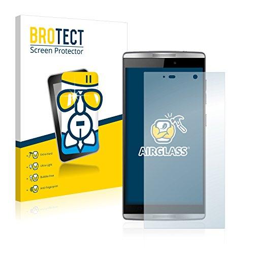 BROTECT Protector Pantalla Cristal Compatible con Orange Nura 2 Protector Pantalla Vidrio Dureza 9H AirGlass