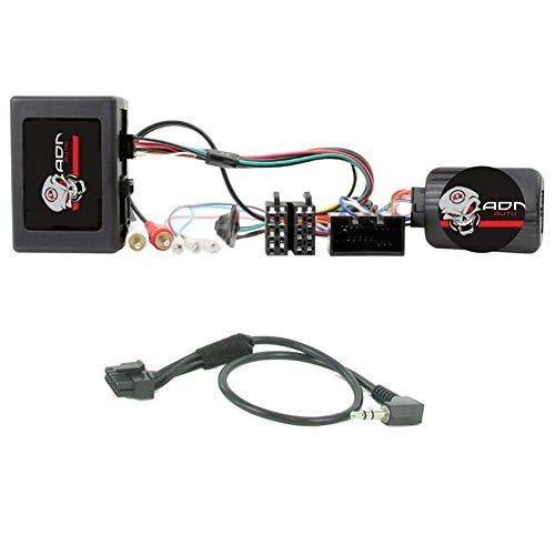 Interface Commande au volant LR9J compatible avec Land Rover 05-09 Ampli Fibre JVC