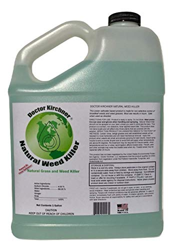 Doctor Kirchner Natural Weed & Grass Killer (1 Gallon) No...