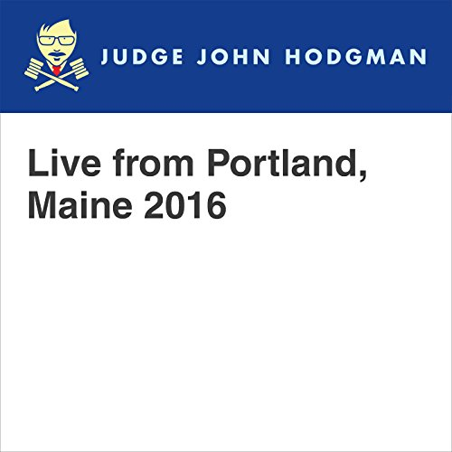 Live from Portland, Maine 2016 audiobook cover art