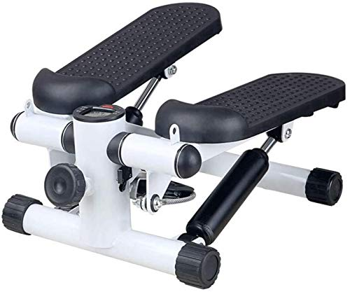 YANGYUAN Máquina elíptica Entrenador Cruzado Stepper Sport Air Stepper Ajustable Aerobic Fitness Máquina Ejercicio Black Mini Stepper