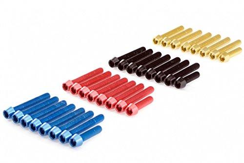 Peugeot Speedfight 2 3 Vario Deckel Schrauben eloxiert Aluminium bunt Alu farbig