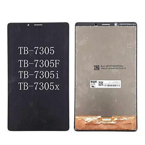 Monitor de Pantalla Plana 7'/ FIT for Lenovo Tab M7 TB-7305 TB-7305F TB-7305I TB-7305I TB-7305X 3G 4G WiFi Pantalla LCD y ensamblaje digitalizador de Pantalla táctil (Color : Black)