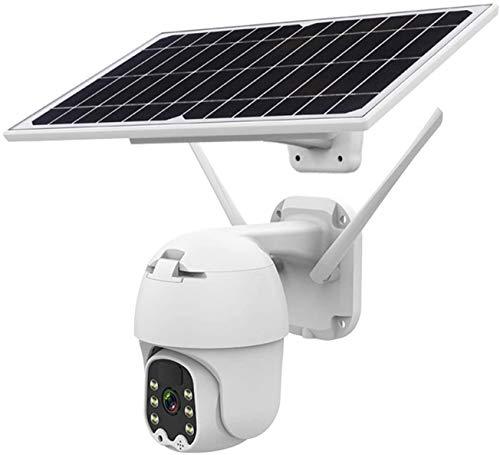 AAFLY Cámara inalámbrica de PTZ de la batería Solar 4G / WiFi, HD 1080P Aparieve al Aire Libre 2MP CCTV CCTV Inicio Video Video Vigilancia IP cámara IP, detección de Movimiento de Radar PIR (WiFi)