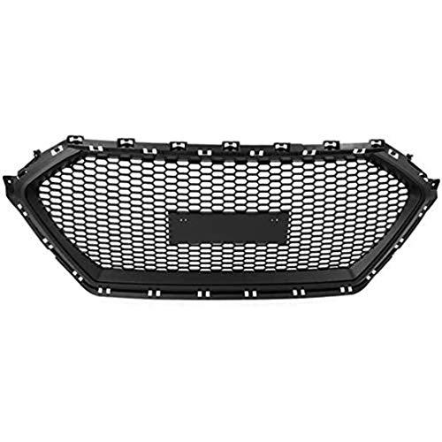 HUAQIEMI ABS Auto Front Kühler Kühlergrille Stoßstange Decorative, Für Hyundai ix35 2009-2015 Vorne Bumper Radiator Grilles, Car Modified Body Stylling Zubehö