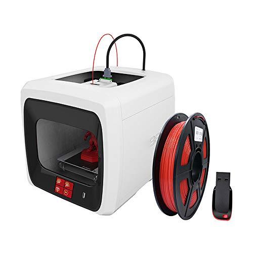 SMGPYDZYP Imprimantes 3D, Imprimante 3D de qualité Industrielle de Haute précision, avec la Fonction d'impression de résumé Home-Office à Double Usage imprimante de Bureau Petite Taille Imprimante