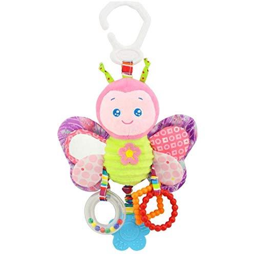 Recién Nacido Juguetes Rattle Felpa del Juguete del Niño del Bebé Los Juguetes Colgantes Interactivo Y Educativo De Los Juguetes