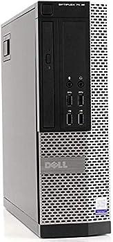 Dell Optiplex 7020 Desktop Computer Intel Quad-Core i5-4570-3.2GHz 16 GB RAM 2TB +256GB SSD HDD DVD USB 3.0 WiFi HDMI Windows 10 Pro  Renewed
