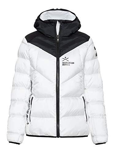 HEAD W Rebels Star Jacket Schwarz-Weiß, Damen Primaloft Isolationsjacke, Größe XS - Farbe White - Black