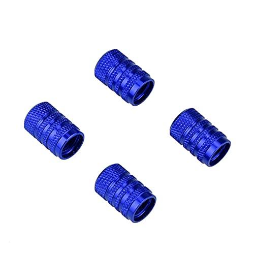 YIKXCF Válvula de neumático de Coches Tapas de vástago 4pcs Perno-en Aluminio Theft Theft Theft Taps Taps Coche Ruedas Neumáticos Neumáticos Tire Tallo Caps de Aire (Color : 18)