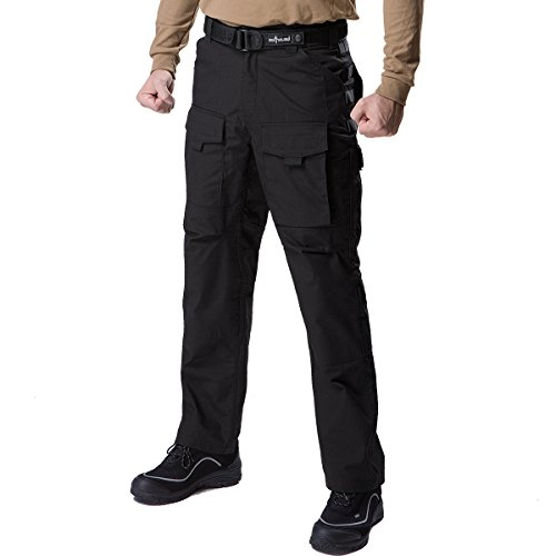 FREE SOLDIER Outdoor Men Multi Pockets Tactical Pants Cargo Pants