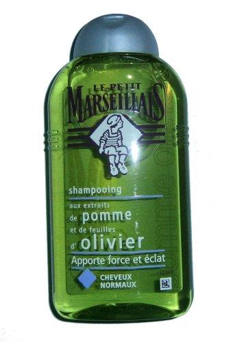 LE PETIT MARSEILLAIS Shampooing pomme et de feuilles d'olivier - Shampoo Apfel und Olivenblätter