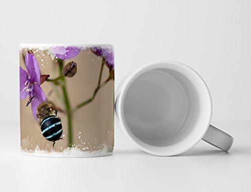 Eau Zone Fotokunst Tasse Geschenk Naturfotografie – Australische Wildblume Murdannia graminea
