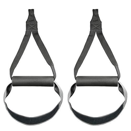 GYMBOX Griffschlaufe/Bauchtrainerschlaufe zum Befestigen an Karabiner Klimmzugstange Zugturm Sling Trainer Indoor/Outdoor
