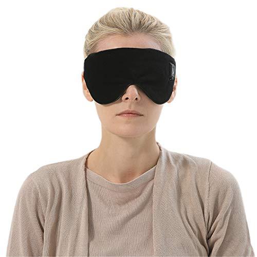 Schnurlose Beheizte Reisende Augenmaske, Trockene Augen Entlasten, Wiederaufladbares Heizkissen Mit Warmem Auge...