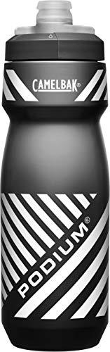 Podium Bike Bottle 24oz, Black, Sliced Stripe LE