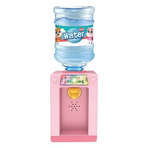 Hunpta @ Mini Wasserspender Kinder Rollenspiele Küchenspiele Lernspielzeug Kinderferien Spielzeug Simulation Spielhaus Getränkespender Puppenmöbel Dekor Zubehör, Geschenk für Jungen Mädchen