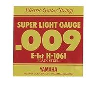 YAMAHA/ヤマハ H-1061 エレキ弦/スーパーライト/1弦×12(H1061)