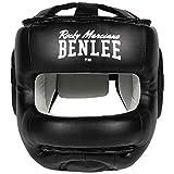 BenLee Head Guard Faux Leather Facesaver, Color:Black, Talla:L/XL