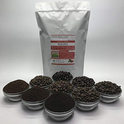 2 Pounds – Northern Africa – Burundi – Roasted To Order Arabica Coffee – Order Today/We Roast Today – Choose Roast Level (Light /Blonde /Medium /Med-Dark /Dark /Italian) (Whole Bean /Ground)