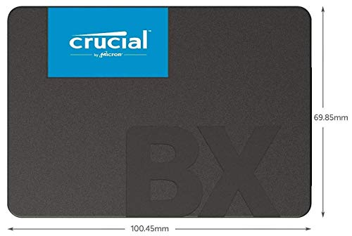 『【Amazon.co.jp 限定】 Crucial SSD 240GB 7mm / 2.5インチ BX500シリーズ SATA3.0 3年保証【PlayStation4 動作確認済】 正規代理店保証品 CT240BX500SSD1Z [FFP]』の10枚目の画像