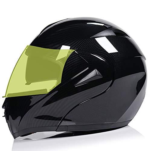 Casco Moto Modular,Casco Moto Integral ECE Homologado para Patinete Motocicleta Bicicleta Scooter...
