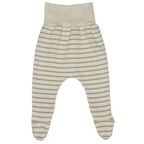 Iobio en jersey pour sable Pantalon rayé coton bio - Beige - 50 cm/56 cm