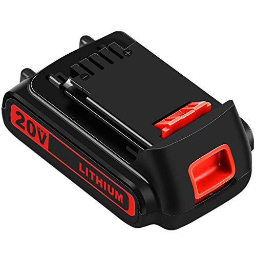 LBXR20 20 Volt 3.0Ah Replacement Battery Compatible with Black and Decker 20V Lithium Battery Max LB20 LBX20 LBXR2020-OPE LBXR20B-2 LB2X4020 LST220