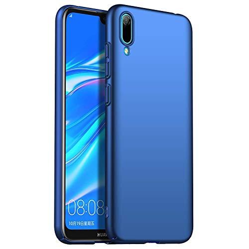 RFLY Funda Huawei Y6 2019, Funda Protectora Resistente A Prueba De Golpes, Mate, Delgada, Dura y Rígida para PC Huawei Y6 2019, Azul Oscuro