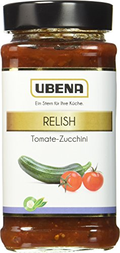 UBENA Tomate-Zucchini Relish, 3er Pack (3 x 0.33 kg)