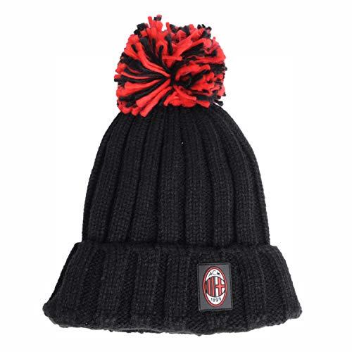 berretto 2 pon pon AC Milan
