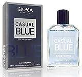 Casual Blue Eau de Toilette Intenso 95 ml, Imitaciones Compatible con Bleu de Chan. Perfume Equivalente Hombre